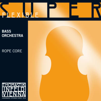Thomastik-Infeld 2887.2 SuperFlexible Chrome Wound Rope Core 3/4 Double Bass Orchestra String - G (Medium)