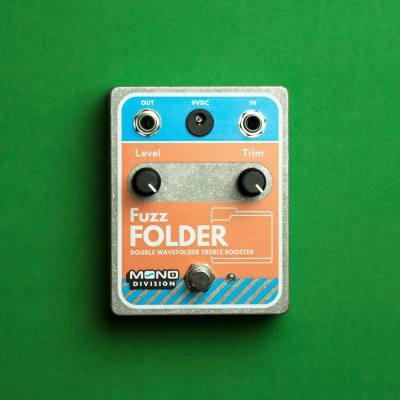 Mono Division Fuzz Folder — Double Wavefolder Treble Booster Pedal