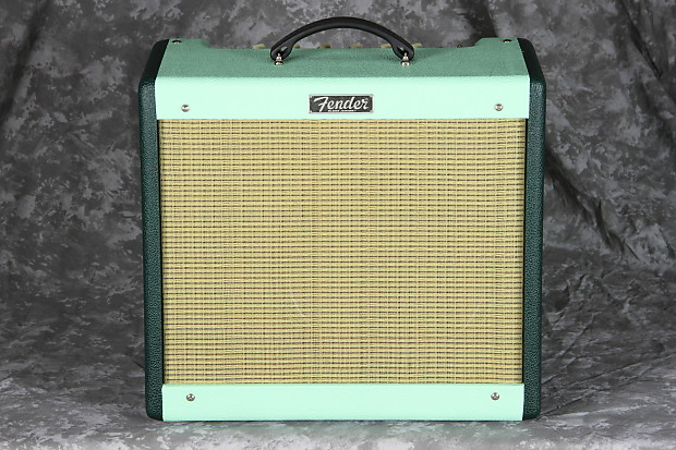 Fender FSR Blues Junior III - Two Tone Green Eagle