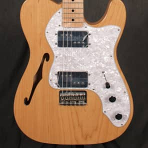 Fender '72 Telecaster Thinline MIM Natural for sale