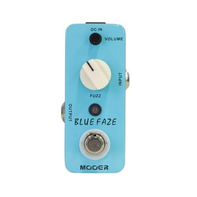 Mooer Blue Faze Vintage Fuzz Micro Guitar Effects Pedal for sale
