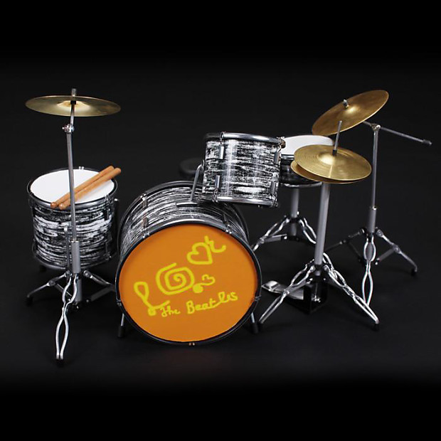 Axe Heaven Ringo Starr Miniature Magical Mystery Tour Drum Set Replica