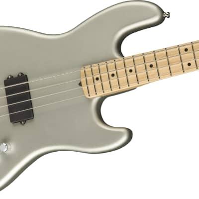 Fender Flea Signature Active Jazz Bass, Maple Fb, Satin Inca Silver for sale