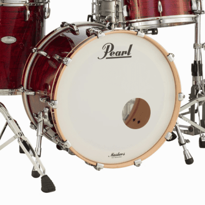 """Pearl MRV2416BX Music City Custom Masters Maple Reserve 24x16"""" Bass Drum"""