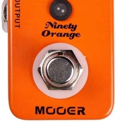 Mooer Ninety Orange Analog Phaser Pedal MPH1 for sale