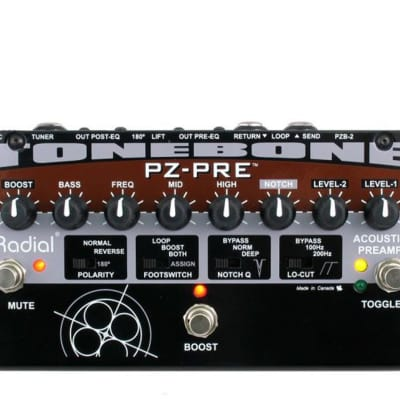 Radial Engineering Tonebone PZ-Pre Acoustic Instrument Preamp