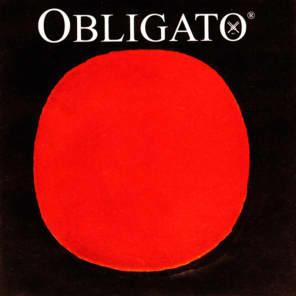 Pirastro OBL411521 Obligato 4/4 Full Size Violin Ball-End String Set with Steel E