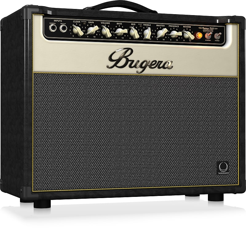 Bugera V22-INFINIUM 22W 1x12'' 2-Channel Tube Guitar Combo Amplifier