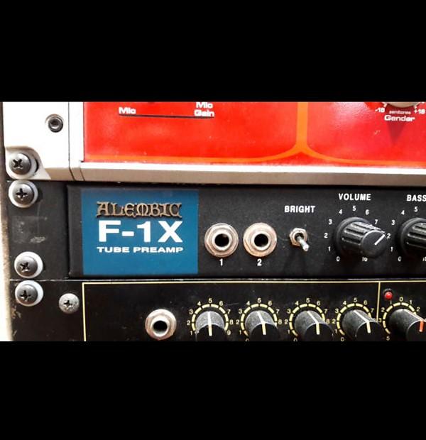 Alembic F1 X Preamp Reverb