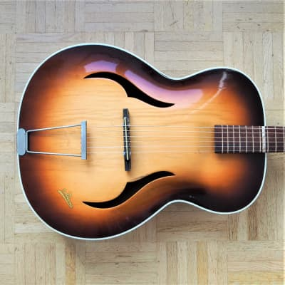 Isana Archtop guitar 1950s West Germany vintage -