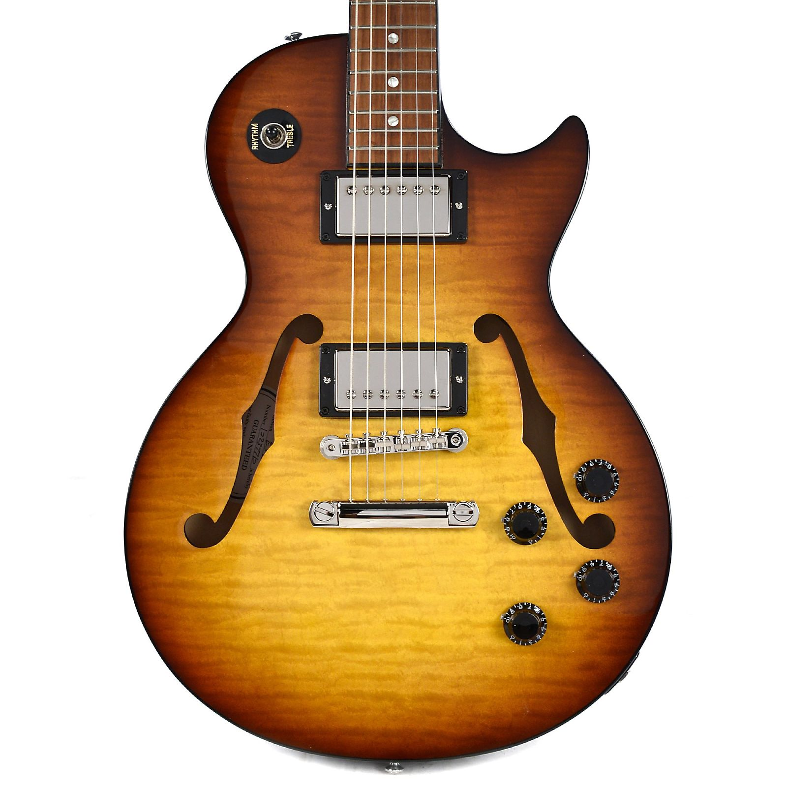 Gibson Memphis ES-Les Paul Special II Figured Iced Tea Sunburst Floor Model