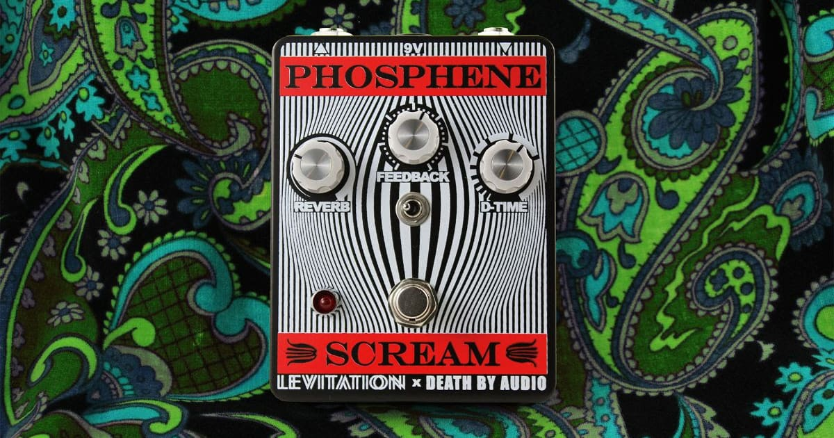 Death By Audio, Black Angels, and Levitation Fest Release the Phosphene Scream