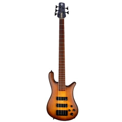 Spector USA Forte 5 Neck Thru Bass Satin Tobacco Burst - #107 - All offers considered, don't be shy!