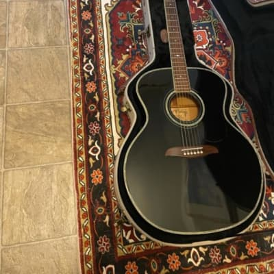 Alvarez Yairi JY-10 1995 Black Gloss Johnny Cash; Everly Brothers hand crafted signed by Kazuo Yairi for sale