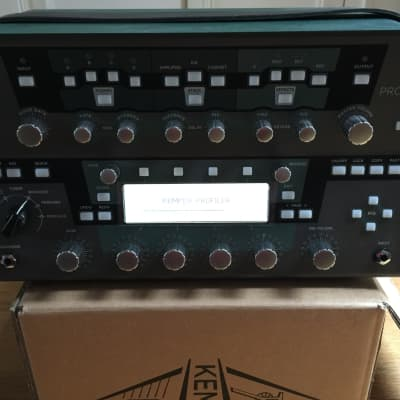 Kemper Profiler Head  Black 2018 - mint for sale