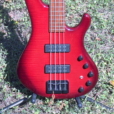 Yancey Basses Flamed Maple Four String for sale