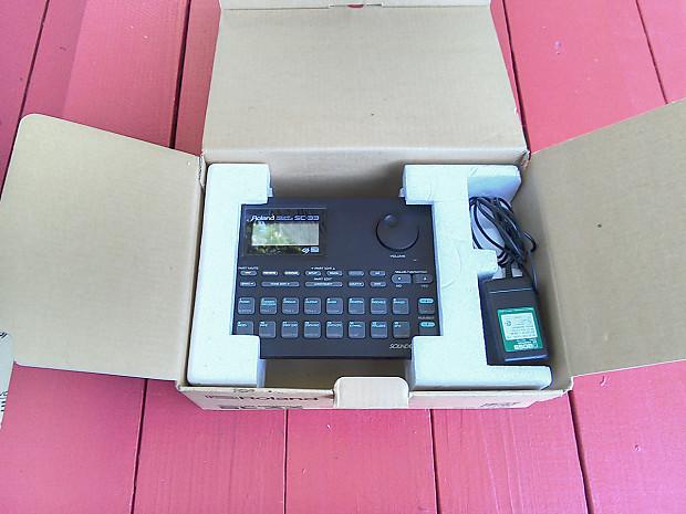 roland sc 33 sound canvas midi sound module exc cond reverb. Black Bedroom Furniture Sets. Home Design Ideas