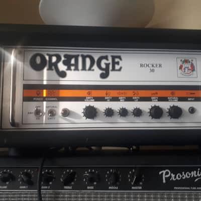 Orange Rocker 30 Head Made in the U.K Black