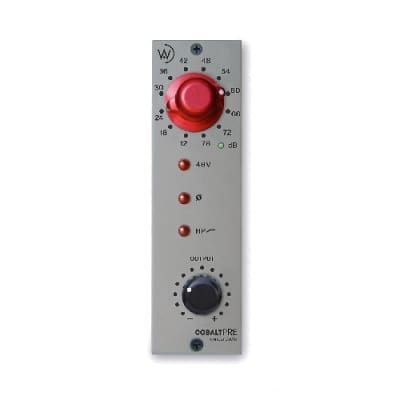 Wunder Audio Cobalt PRE 500 Series Mic Preamp | New w/Warranty, Free Shipping from Atlas Pro Audio!