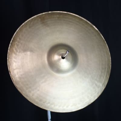 "A. Zildjian 13"" Pre-Transition Stamp Hi-Hat Cymbals (Pair) 1929 - 1945"