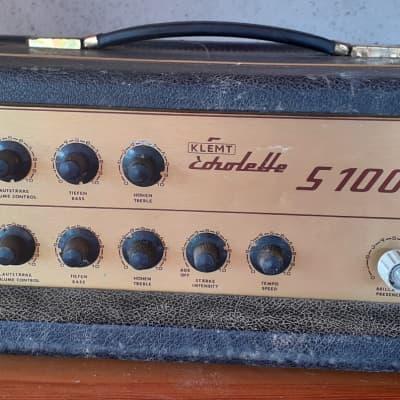 Echolette  S100 Guitar Amp Head / VALVO El 34's tubes for sale