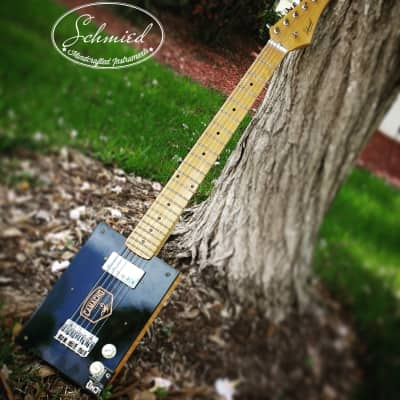 Cigar Box Guitar    Camacho Connecticut 2018 Wood for sale