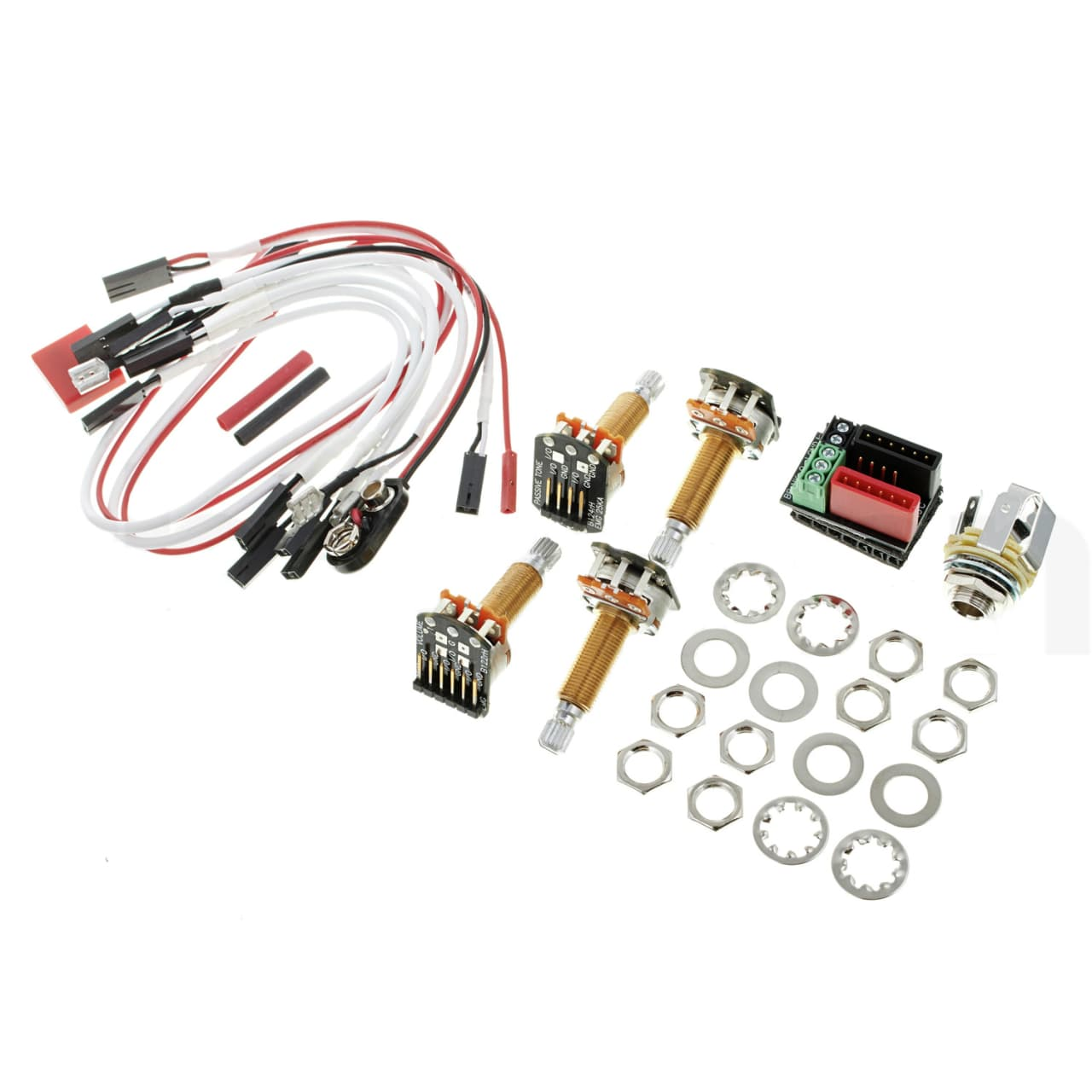 New Emg Solderless Wiring Conversion Kit For 1 2 Pickups Manual Guide