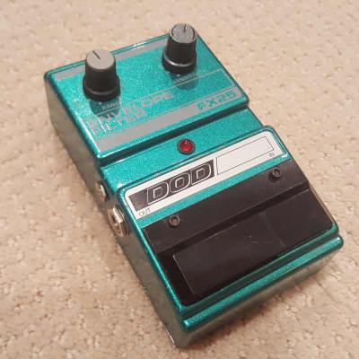 90s Vintage DigiTech DOD FX25 Envelope Filter Guitar Effect Pedal Auto Wah USA for sale