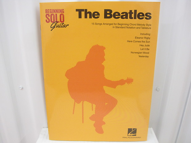 The Beatles Beginning Solo Guitar Sheet Music Book Song Book Reverb