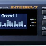Roland Integra 7 Deep Blue