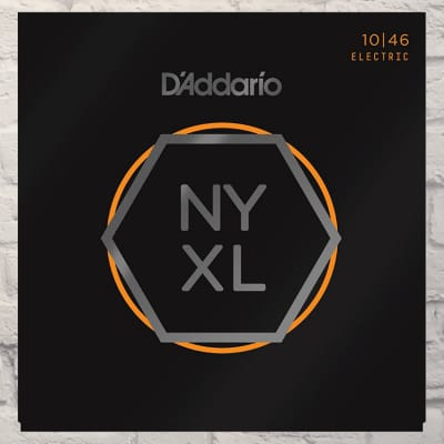D'Addario NYXL1046 Regular Light Nickel Wound Electric Guitar Strings 10-46