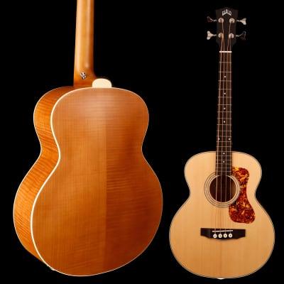 Guild Jumbo Junior Bass, Flame Maple B/S 659 3lbs 15.6oz
