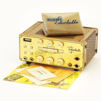 1965 Klemt NG51 Echolette Tube Tape Analog Delay Echo Unit Amplifier - Super Clean w/ Cover & Tags! for sale