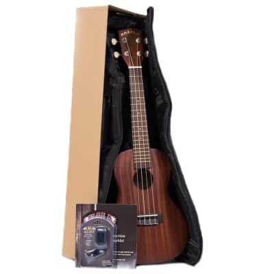Kala mktpack tenor ukulele package deal with gig bag, tuner and instructional materials pamphlet
