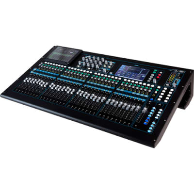 Allen & Heath AH-QU-32C 38-In/28-Out Digital Mixing Console - Chrome Edition (B-Stock)