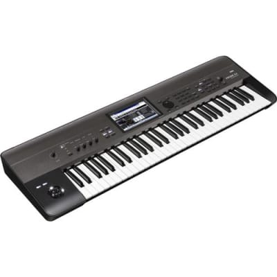 Korg Krome EX 61-Key Music Workstation Semi Weighted Keyboard with New Programs and PCM Data