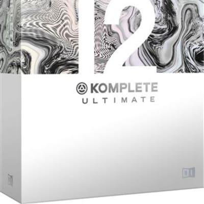Native Instruments Komplete 12 Ultimate Collector Edition Suite