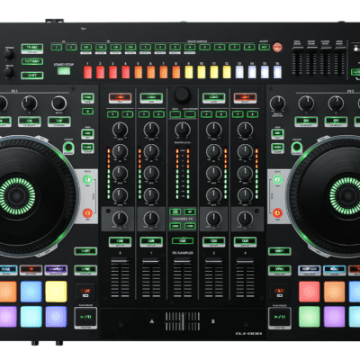 Roland DJ-808 4-deck Serato DJ Pro Controller with Drum Machine and Vocal Transformer