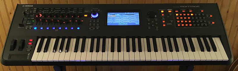 Yamaha Montage 6 61-key Flagship Synthesizer | Pete's | Reverb