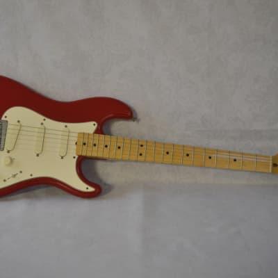 Fender Bullet S-3 Torino Red w. Original Hardshell Case for sale