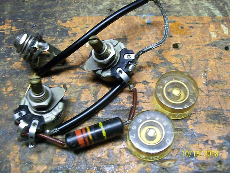 1955 1956 gibson les paul junior wiring harness and reverb. Black Bedroom Furniture Sets. Home Design Ideas