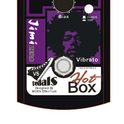 Hot Box Pedals Canada HB-VB5 Gen4 Vibe/Chorus Guitar VIBE Effect Pedal FREE SHIPPING
