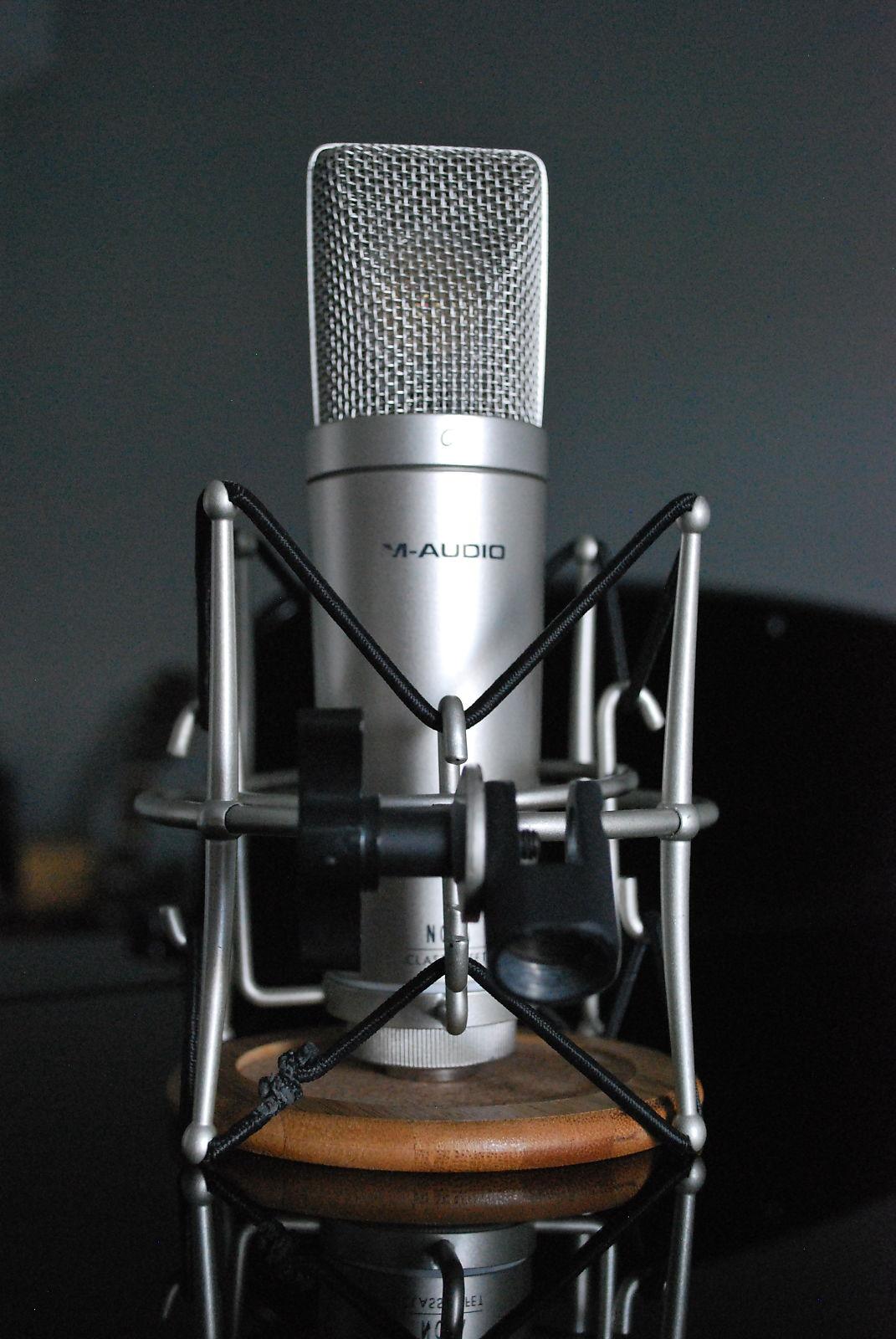 m audio nova cardioid condenser mic reverb. Black Bedroom Furniture Sets. Home Design Ideas