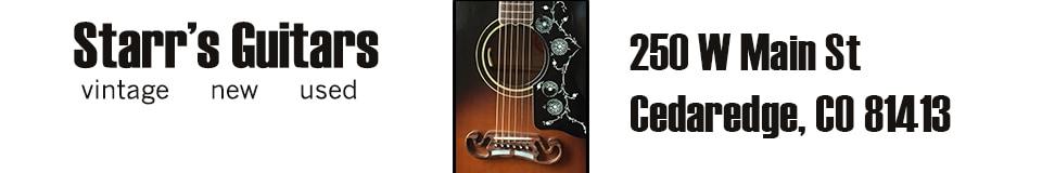 Starr's Guitars