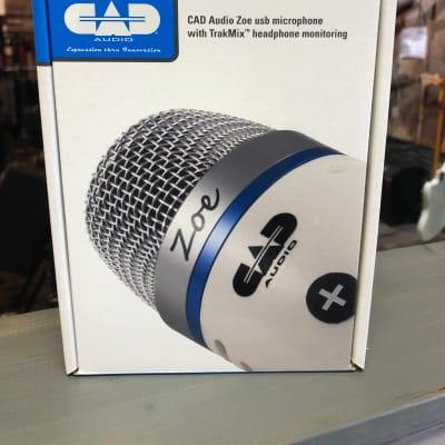 CAD ZOE USB Condenser Microphone w/ TrakMix Headphone Output