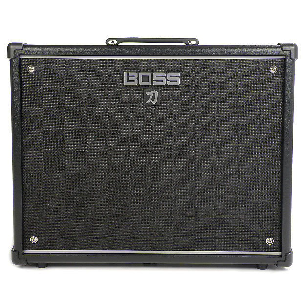 boss katana ktn 100 100w 1x12 guitar combo amplifier black reverb. Black Bedroom Furniture Sets. Home Design Ideas