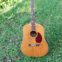 Kay  kay  6100 x braced spruce top acoustic project  1950's natural
