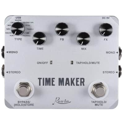 ROWIN LTD-02 Time Maker Delay Guitar Effect Pedal 11 Types of Delay effects Free Shipping
