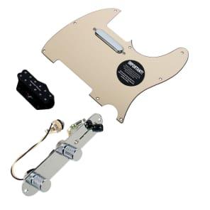 920D Custom Shop 11208-33+T3W-CR Seymour Duncan Little 59/Vintage Stack Loaded Tele Pickguard w/ 3-Way Switching