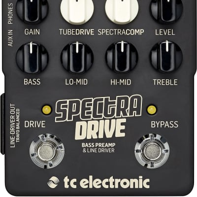 TC Electronic SpectraDrive Bass Preamp for sale